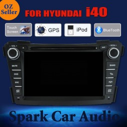 AFTERMARKET GPS DVD SAT NAV IPOD BLUETOOTH NAVIGATION USB STEREO FOR HYUNDAI i40
