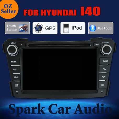 AFTERMARKET GPS DVD SAT NAV IPOD BLUETOOTH NAVIGATION USB STEREO FOR HYUNDAI i40
