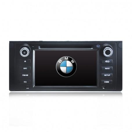 GPS NAVIGATION SAT NAV DVD IPOD BLUETOOTH RADIO PLAYER FOR BMW E39 E53