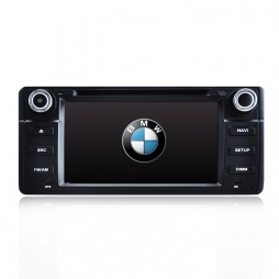 GPS NAVIGATION DVD IPOD BLUETOOTH RADIO PLAYER FOR BMW E46