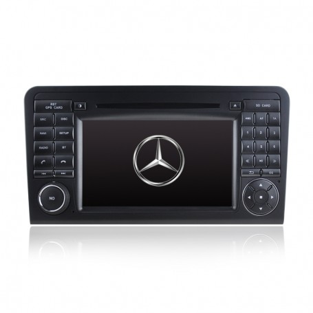7' GPS NAVIGATION DVD IPOD BLUETOOTH RADIO FOR MERCEDES ML/GL CLASS 2005-2012
