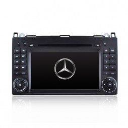 "7"" GPS NAVIGATION DVD IPOD BLUETOOTH RADIO PLAYER FOR MERCEDES VITO SPRINTER"