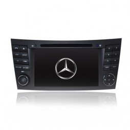 7' GPS NAVIGATION DVD SAT NAV IPOD BLUETOOTH FOR MERCEDES E-Class W211 W219