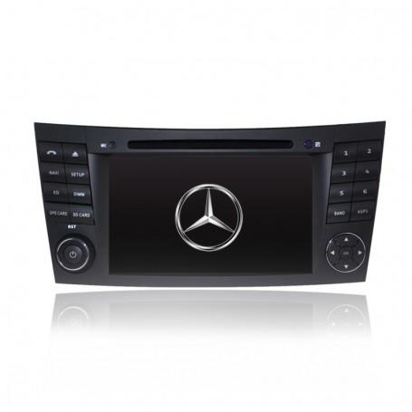 7' GPS NAVIGATION DVD SAT NAV IPOD BLUETOOTH FOR MERCEDES E-Class W211 W219