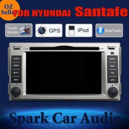 AFTERMARKET GPS DVD SAT NAV IPOD BLUETOOTH NAVI FOR HYUNDAI SANTAFE PRE 2012