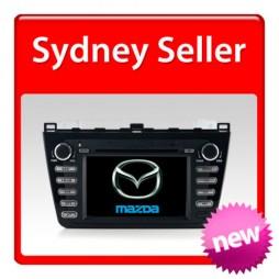 "Mazda 6 Navigation Multimedia system 8"" GPS DVD IPOD BLUETOOTH RADIO (2008 on)"