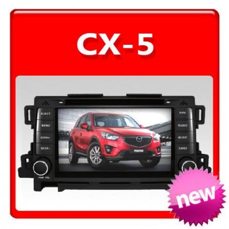 Mazda CX 5 Navigation Multimedia system GPS DVD IPOD BLUETOOTH RADIO Player CX-5