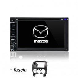 AFTERMARKET MAZDA 2 GPS DVD SAT NAV IPOD BLUETOOTH NAVIGATION STEREO 2007-2014