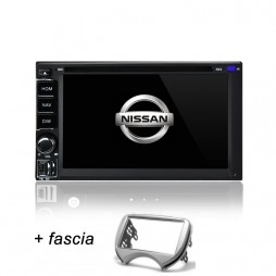 AFTERMARKET NISSAN MICRA Navigation SYSTE GPS DVD Bluetooth IPOD for MICRA 2011+