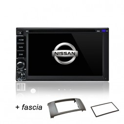 AFTERMARKET NISSAN PULSAR GPS DVD SAT NAV IPOD BLUETOOTH USB NAVIGATION 2012+