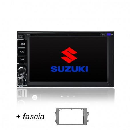 7' SUZUKI SX4 Navigation Sat Nav SD GPS DVD Bluetooth FOR SUZUKI SX-4 2007-2014
