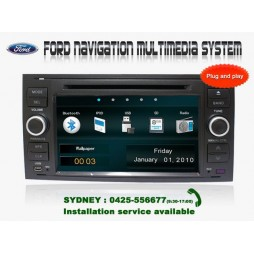 7' FORD FOCUS Navigation Multimedia System GPS DVD BT IPOD FOR FOCUS (2005-2008)