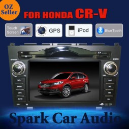 "7"" HONDA CRV GPS DVD IPOD BLUETOOTH SD FOR CR-V Navigation Multimedia System"
