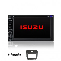 AFTERMARKET ISUZU D MAX D-MAX GPS DVD SAT NAV IPOD BLUETOOTH SD NAVIGATION 2012+