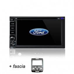 AFTERMARKET FORD RANGER GPS DVD SAT NAV IPOD USB SD BLUETOOTH NAVIGATION STEREO