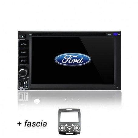 AFTERMARKET FORD RANGER GPS DVD SAT NAV IPOD USB SD BLUETOOTH NAVIGATION STEREO