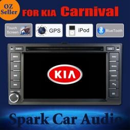 AFTERMARKET GPS DVD SAT NAV IPOD BLUETOOTH NAV FOR KIA CARNIVAL SPORTAGE CERATO