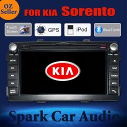 AFTERMARKET GPS DVD SAT NAV IPOD BLUETOOTH USB SD FOR KIA SORENTO 2010-2012